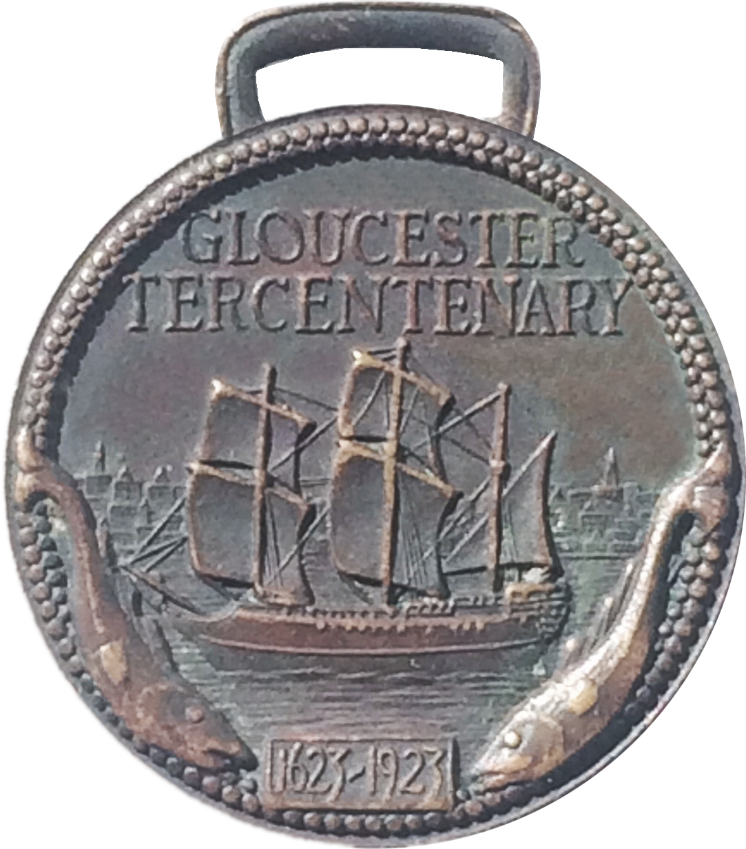 300th Commemorative Medal Front
