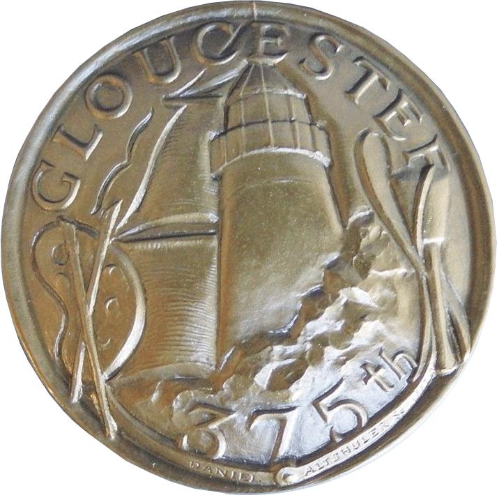 375th Commemorative Medal Back